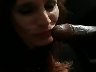 Sucking on some BBC