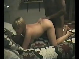 Hotwife's first time with black bull at home vol1