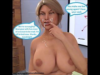 Hot Slut Wife Cheating Cuckold 3D Comics