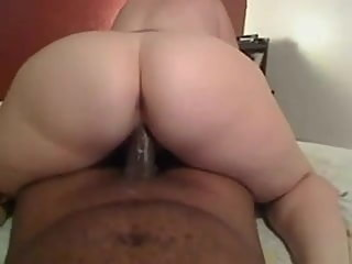 Thick Wife Rides BBC While Hubby's at Work