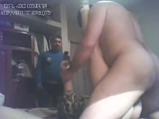 daddy irani sex slut in the morning with his frined