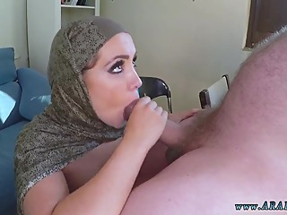 Hot muslim with hijab and arab pov and cuckold femdom slave -bbc -black