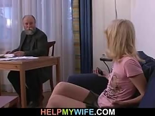 He pays him to fuck his young wife