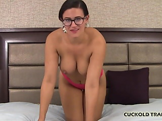 Watch me ride a really big cock