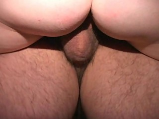 MILF sucks stranger as she fucks clueless cuck in gloryhole Longest edit