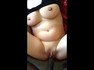 Used pussy getting ripped to pieces by BBC