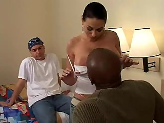 Harley Fucks, Hubby Watches