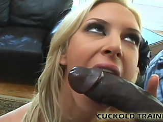 Watch his big black cock beating up my white pussy