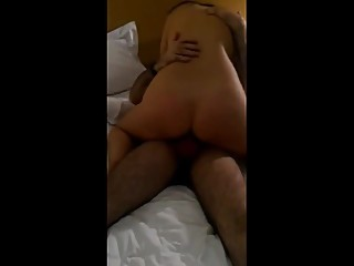 Amateur wife with friend cuckold