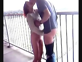 Cucks wife fucks in public