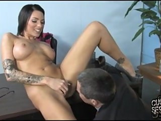 Tattooed wife addicted to black dick