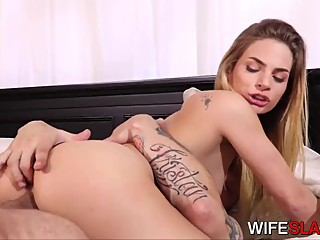 Supportive Husband Watches Young Stud Fuck His Hot Wife