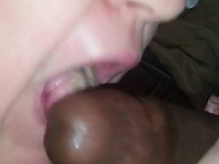 Young black bull blasts huge nut in my BBW hotwife